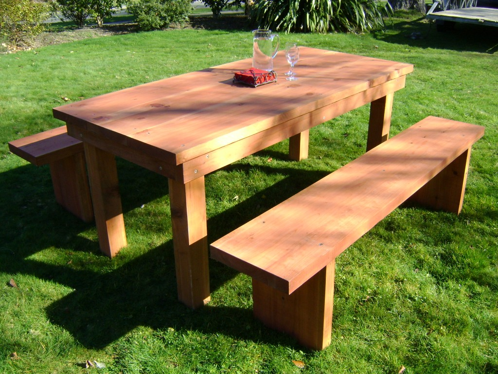 Redwood Outdoor Furniture (Image 10 Of 10)