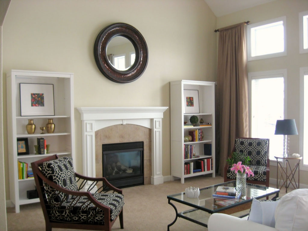 Relaxing Calming Paint Colors for Neutral Room