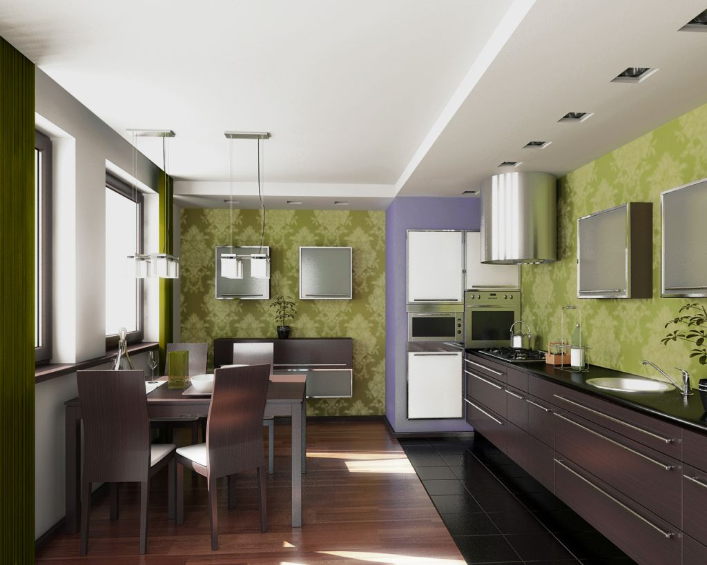 Relaxing Kitchen And Dining Room Designs (Image 9 of 10)