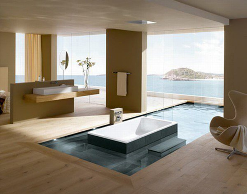 Relaxing Modern Coastal Home Designs (Image 9 of 10)