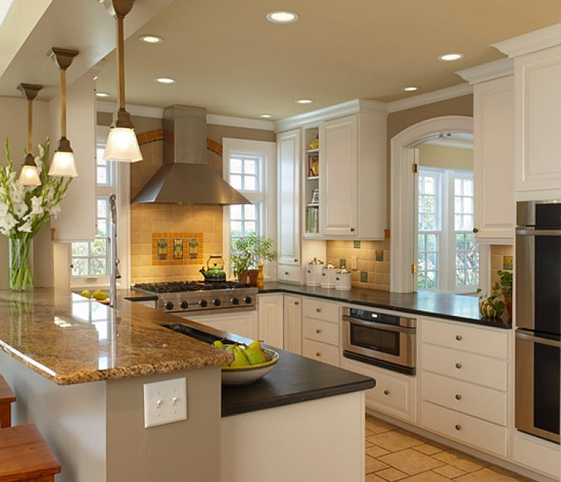 Remodeling Kitchen Designs For Small Kitchens (Image 4 of 10)