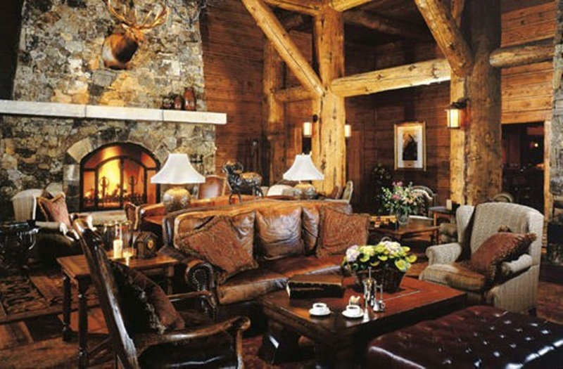 Rustic Interior Design with Nature Theme