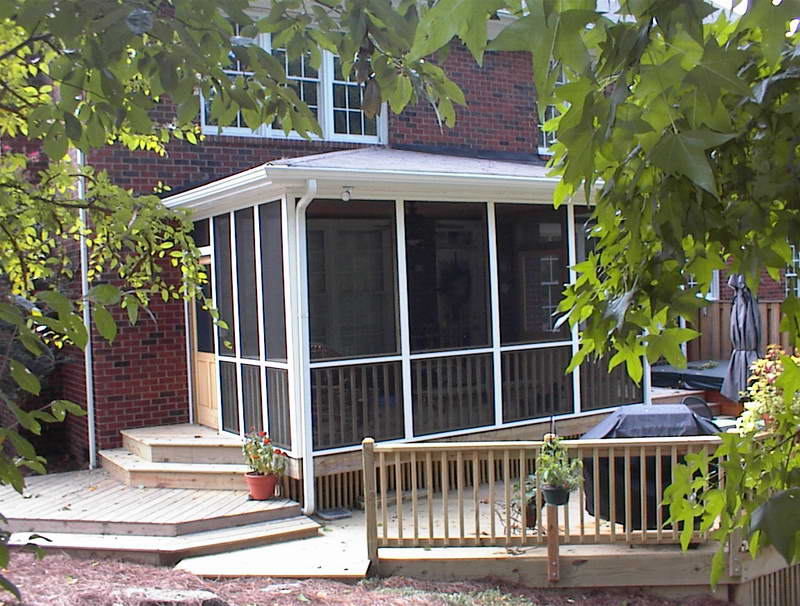 Screened In Porch Plans With Brick Walls (View 3 of 10)