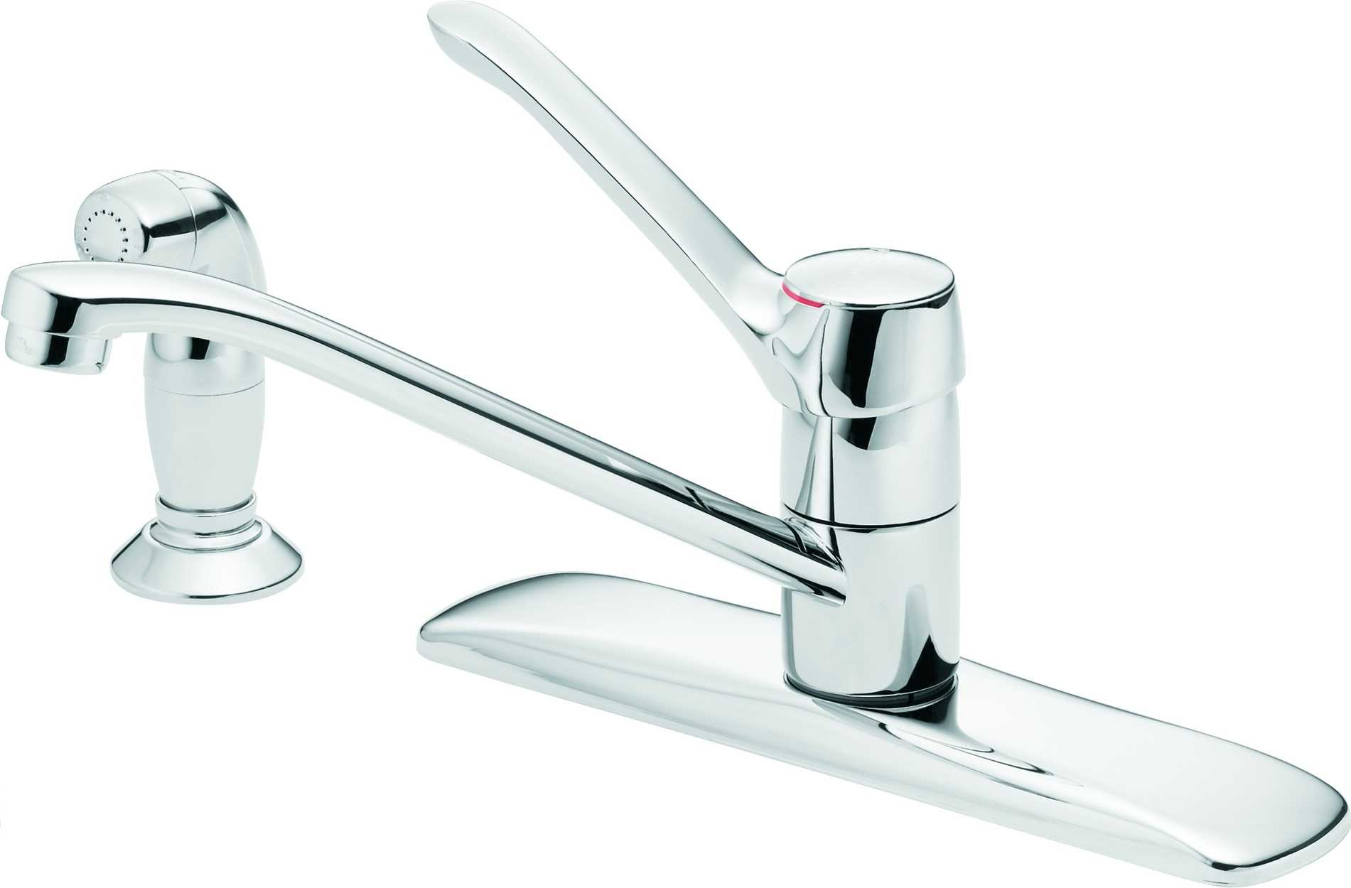 Silver Moen Kitchen Faucets