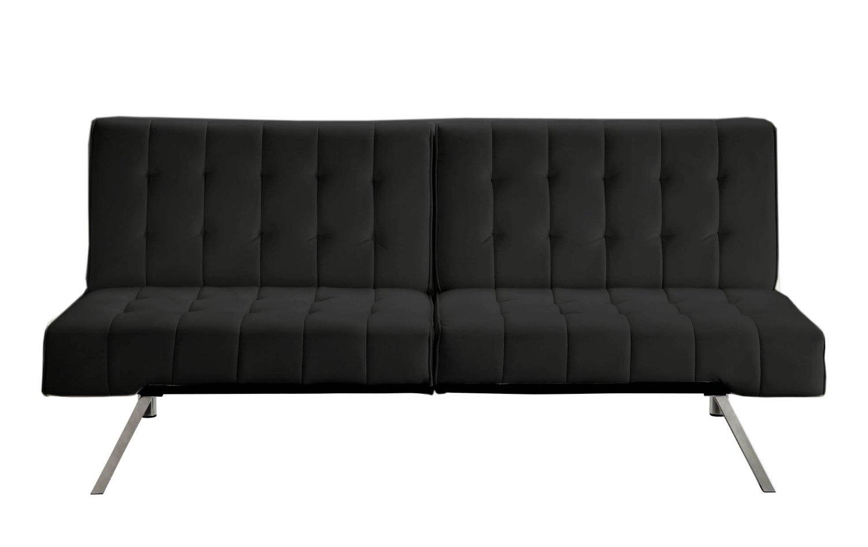 Simple Black Neat Sofa Warehouse!