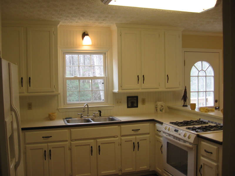 Simple Painting Kitchen Cabinets Decoration