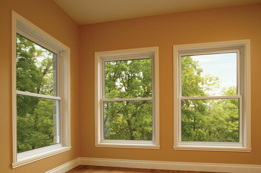 Simple Square Single Hung Windows Features