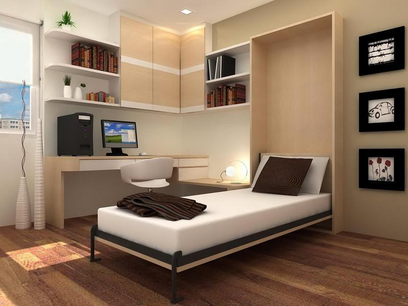 Single Elegant Transformable Murphy Bed Ideas