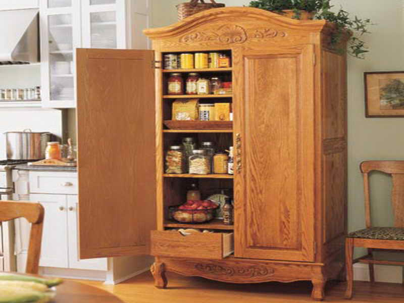 Small Free Functional And Practical Kitchen Pantry (View 7 of 10)