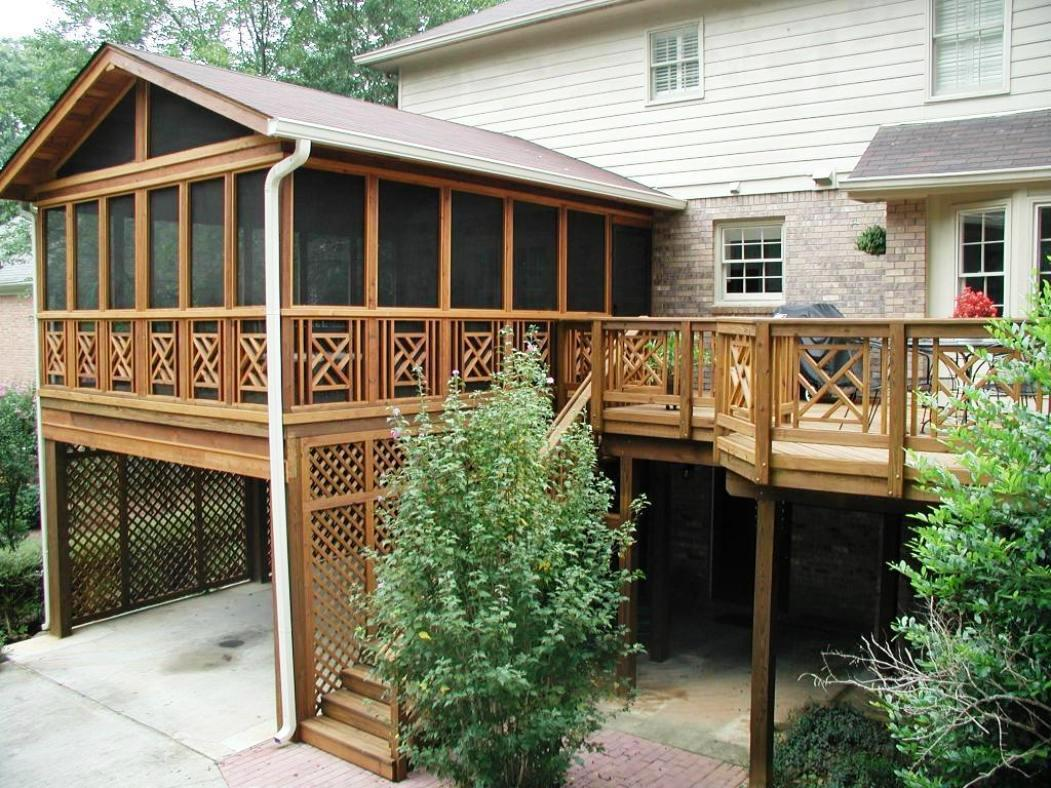 Small Screened Porch Ideas (Image 7 of 10)