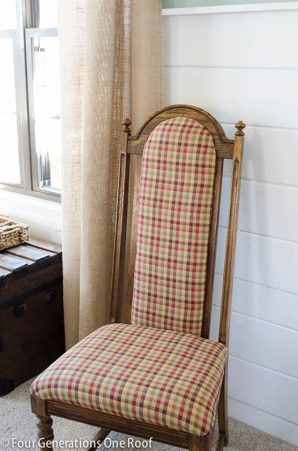 Square Reupholstering A Chair (Image 8 of 10)