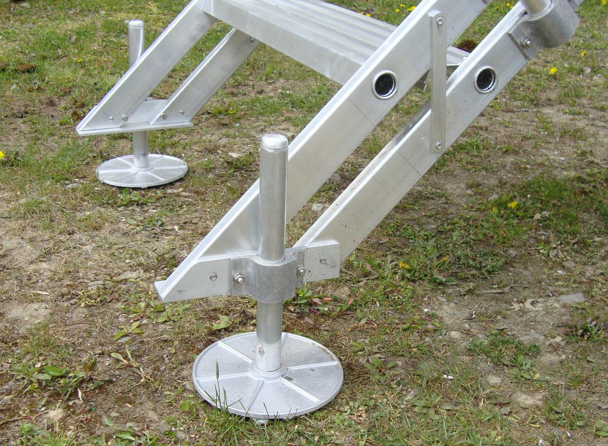 Steel Mobile Home Stairs