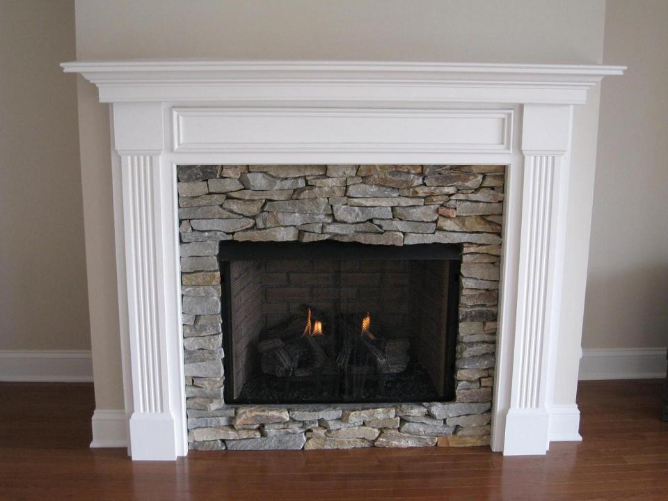 Stone Fireplace Mantel Kits Ideas (View 9 of 10)