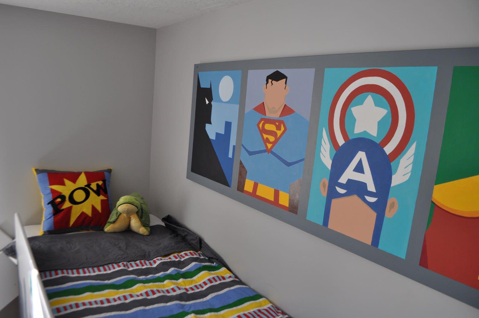 Super Hero Bedroom (Image 6 of 10)