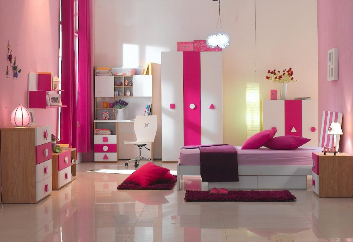 Teenager Rooms with a Feminine Touch
