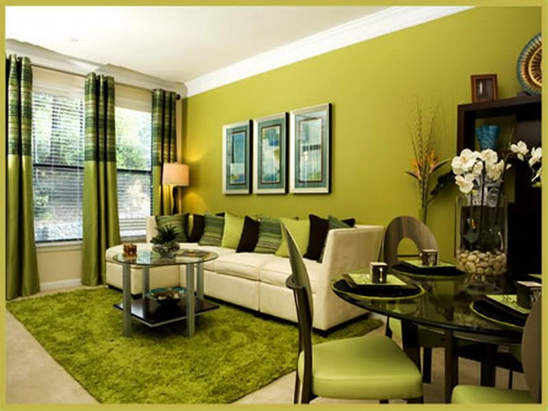 The Green Living Room Ideas (View 4 of 10)