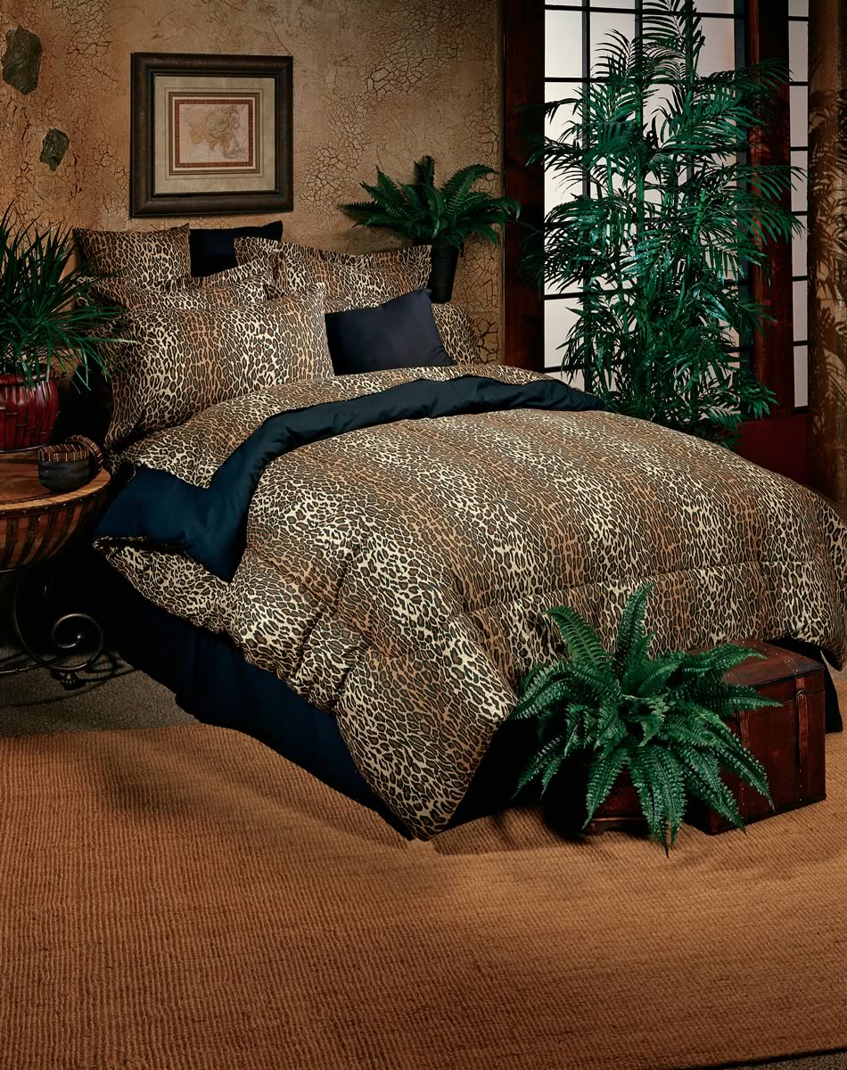Theme Bedroom The Leopard Home Decor (View 7 of 10)