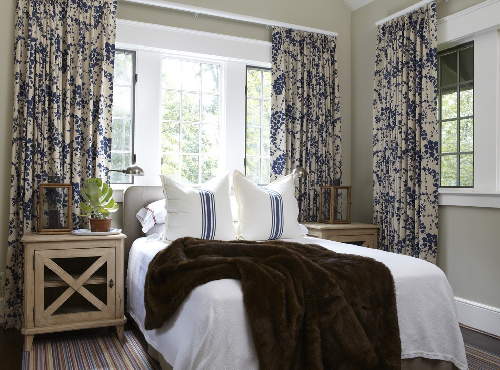 Traditional Nautical Bedroom Curtain