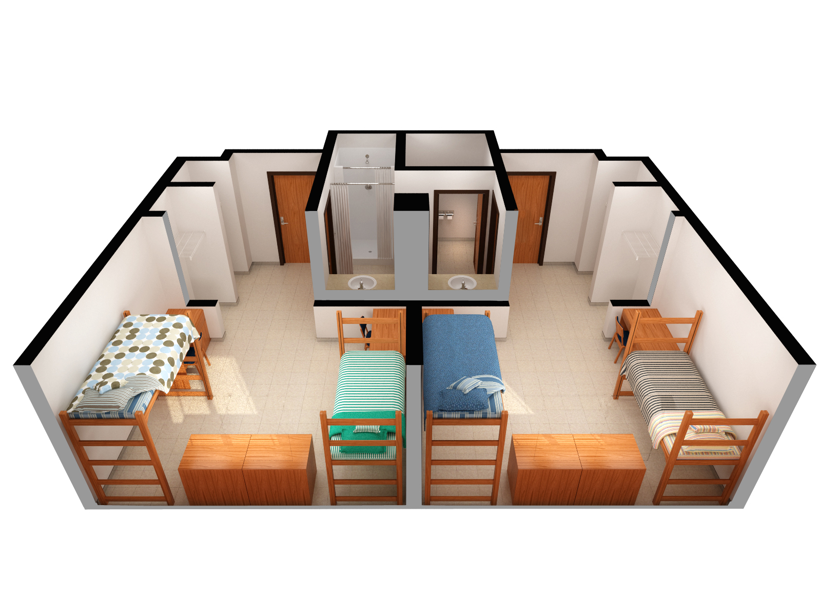Traditional Room Dimensions