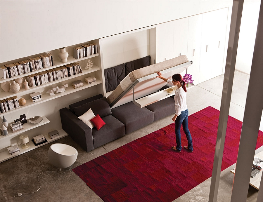 Featured Image of 3 Brilliant Ideas Of Modern Comfortable Folding Wall Beds