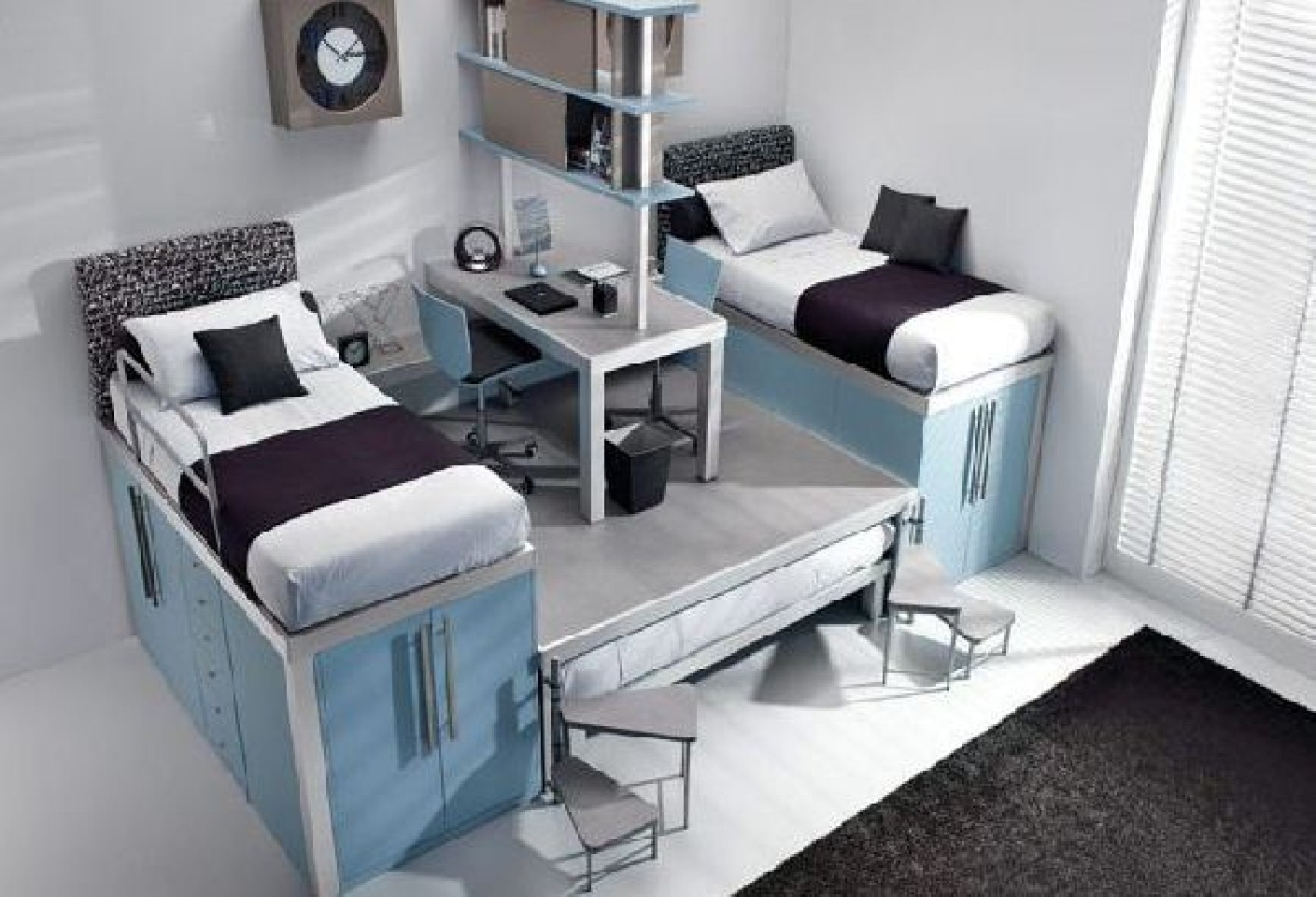 Twin Bedroom Decors