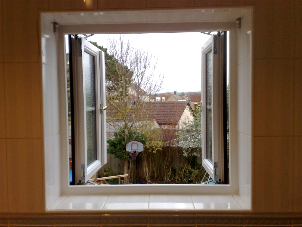 UPVC Simple French Casement Windows