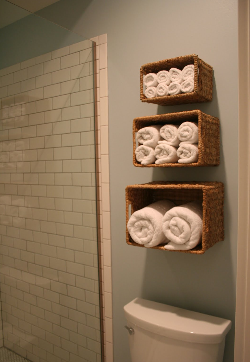 Unique Arrange The Towels in Your Bathroom