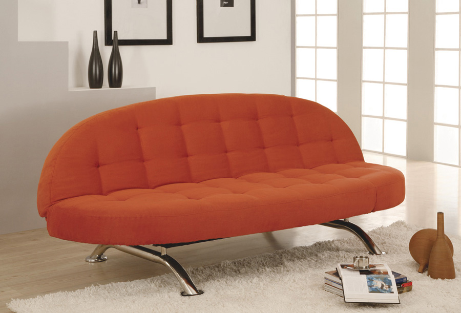 Unique Leather Sleeper Sofas