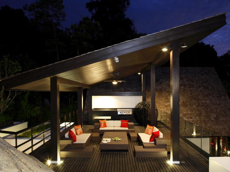 Unique Thai Terrace Design