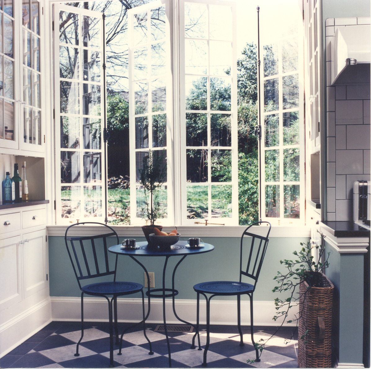Vintage Cottage French Casement Windows