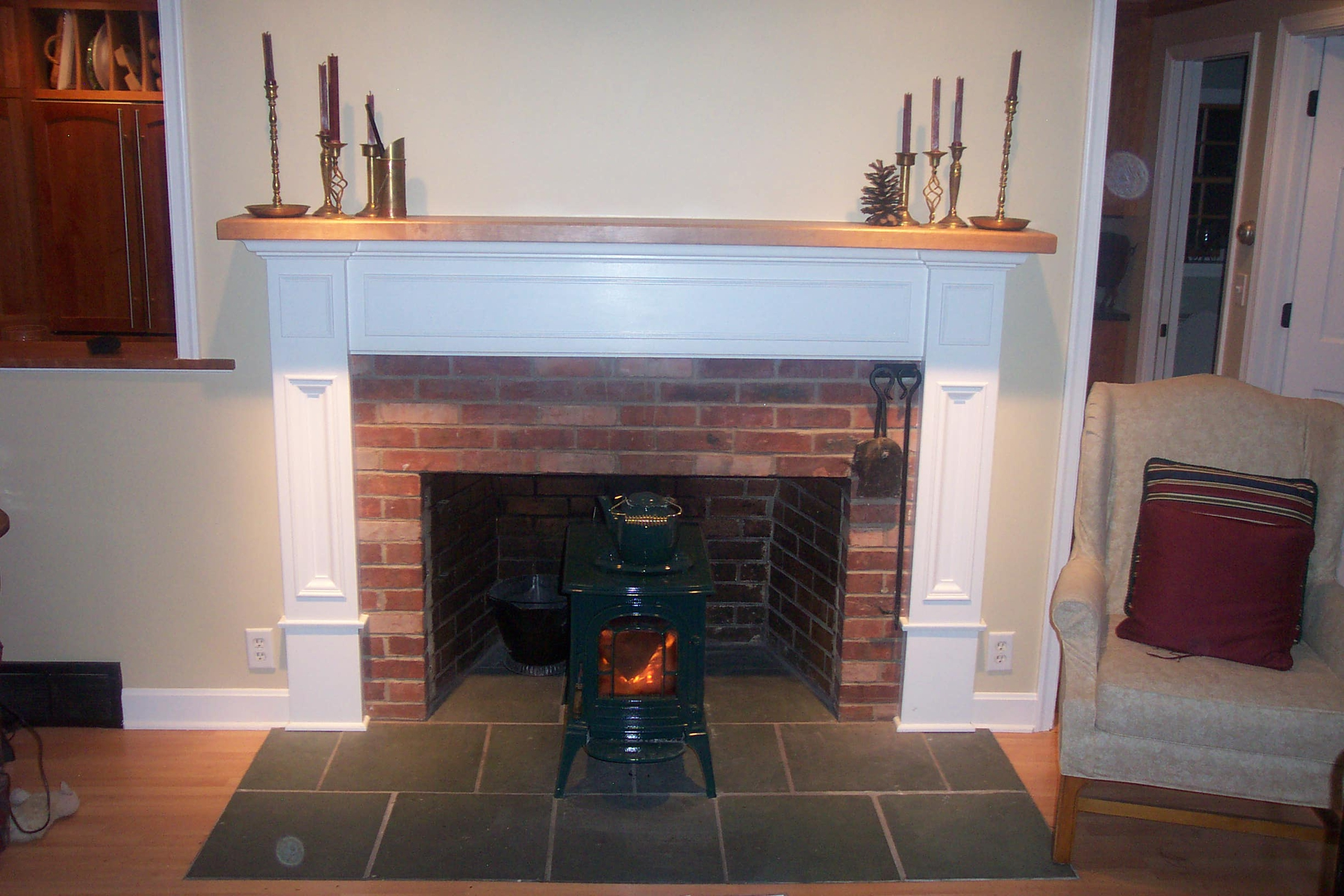 Vintage Fireplace Mantel Kits Ideas