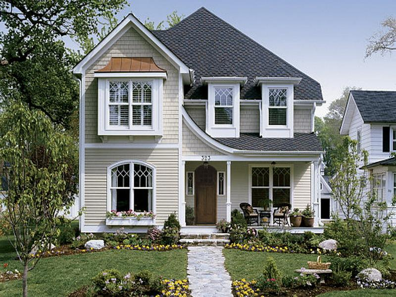 Vintage Vinyl Siding in American Houses