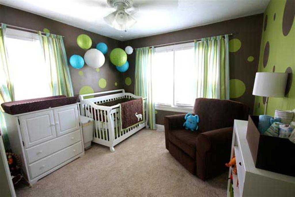 Wall Paint Ideas For Nursery (Image 9 of 10)