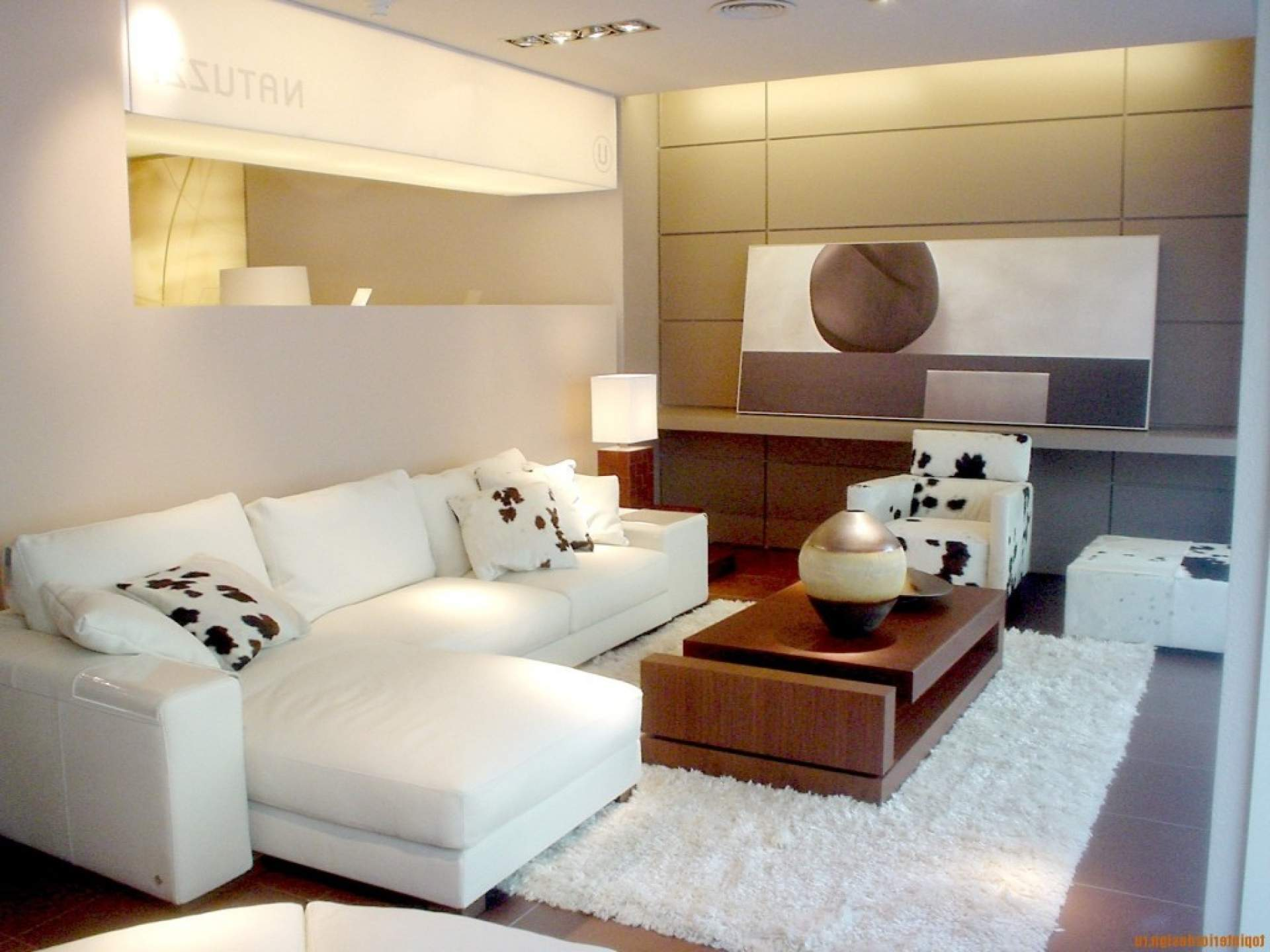 White And Black Minimalist Penthouse Design (View 10 of 10)