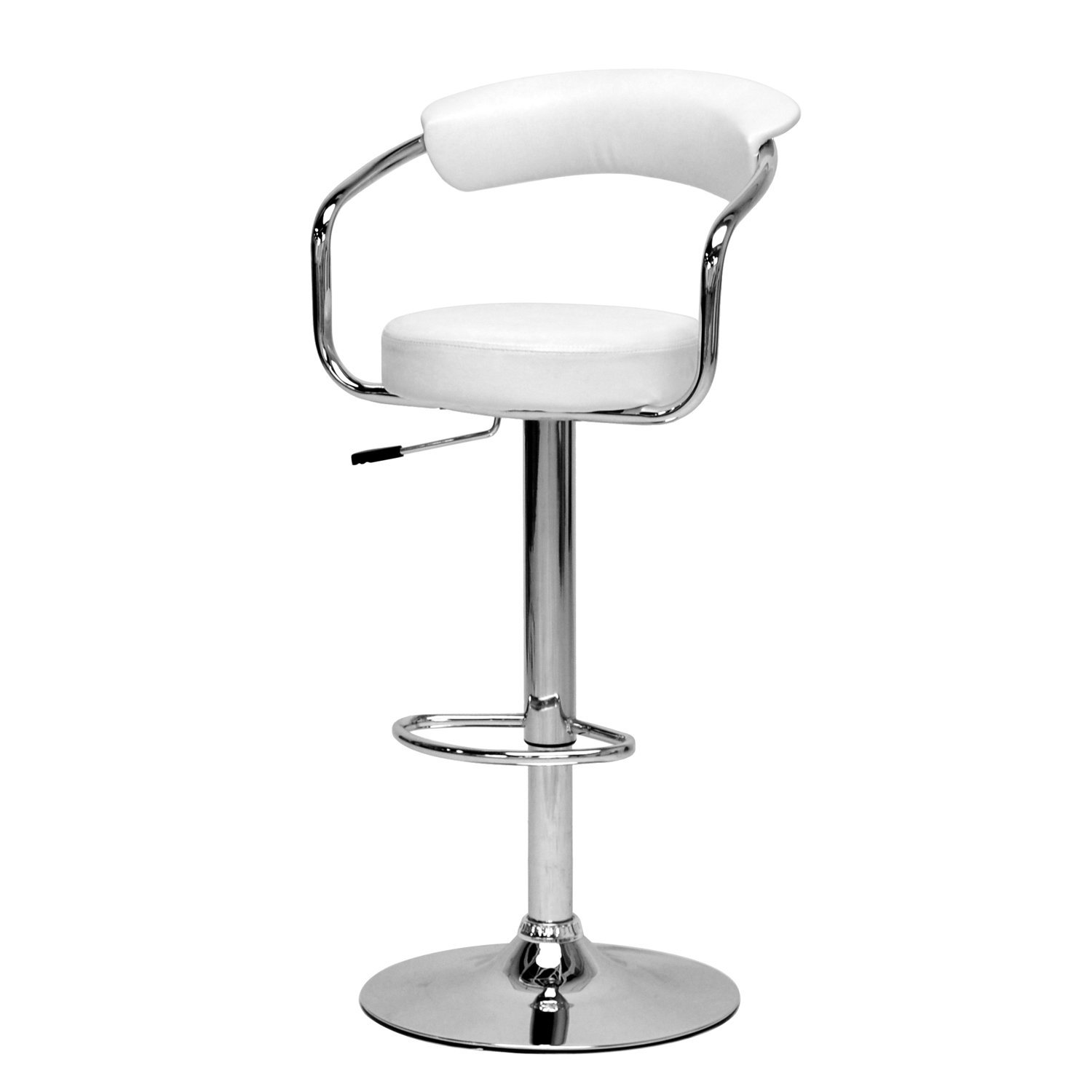 White Stool (Image 7 of 10)