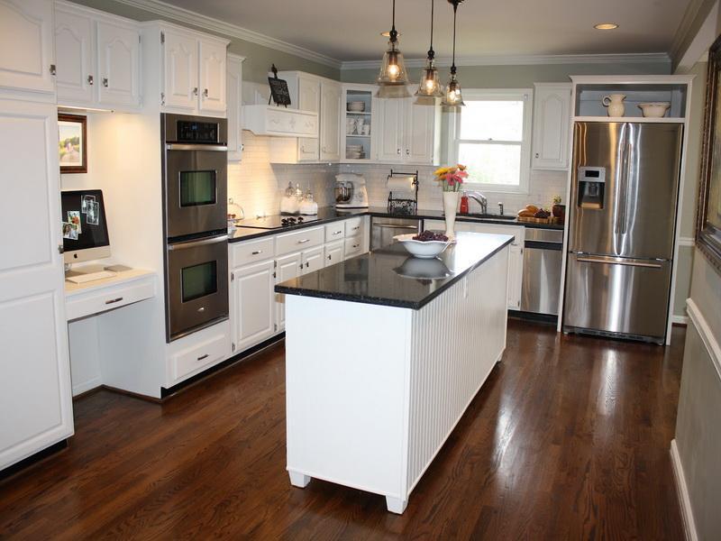 White Tips Kitchen Makeover (Image 9 of 10)