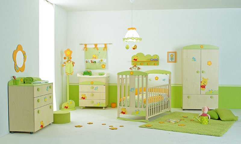 Winnie Wall PaintBaby Room (View 4 of 10)
