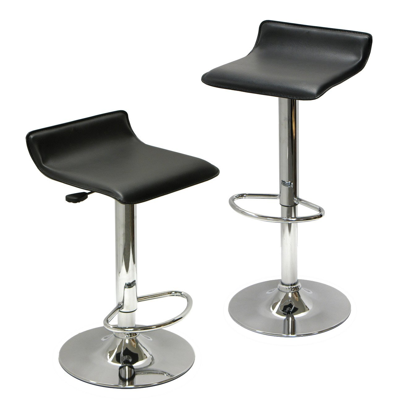 Winsome Wood Air Lift Adjustable Stools (Image 9 of 10)