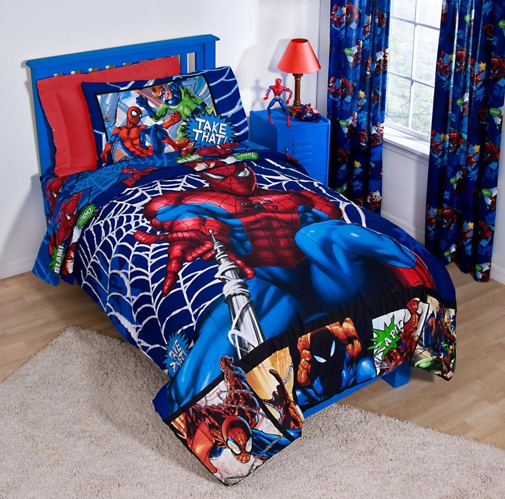 Featured Image of The Application Of Avengers Bedding Into The Room
