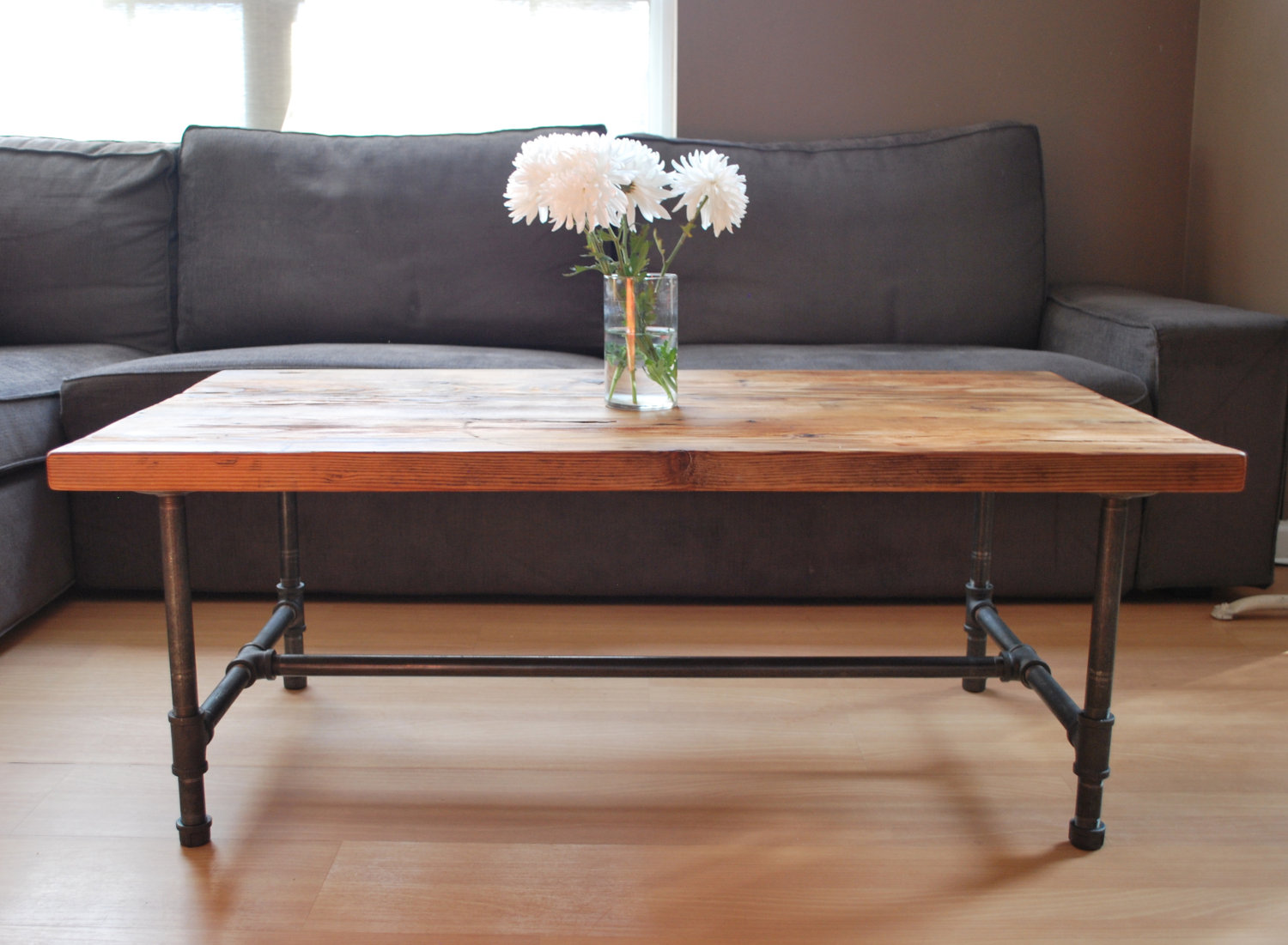 Wood Coffee Table (Image 7 of 10)
