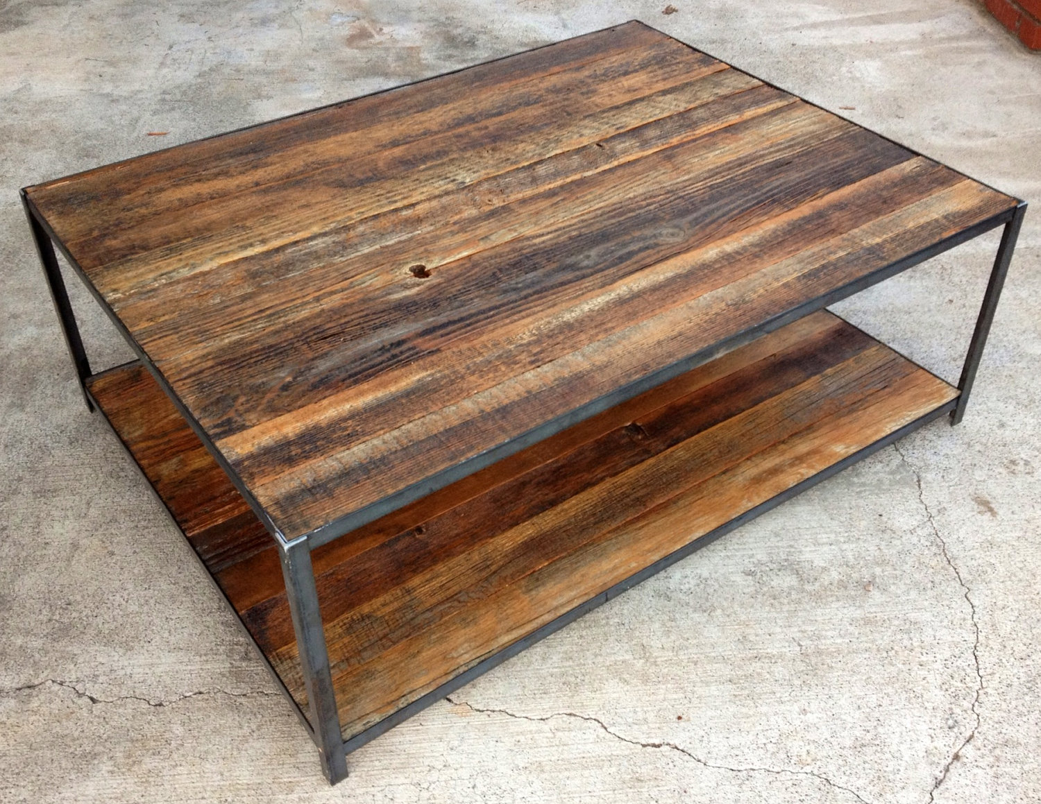 Wood Slab Dining Table (Image 10 of 10)