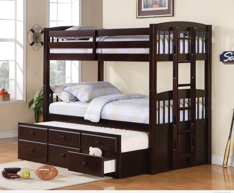 Wooden Impressive Unique Bunk Bed (View 9 of 10)