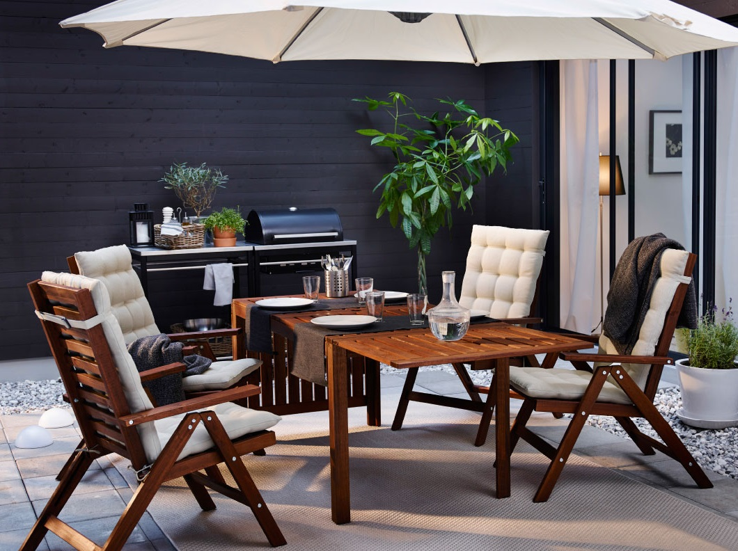 Wooden Patio Furniture In Modern Design (Image 19 of 20)