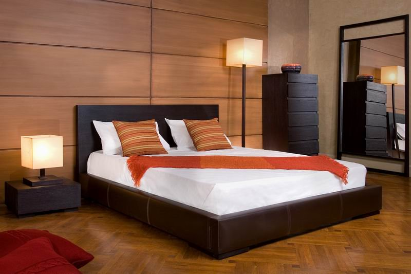 Wooden Small Bedroom Paint Ideas