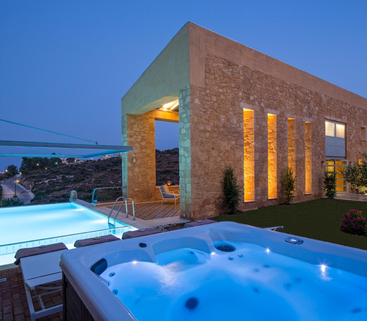 amazing greece villas