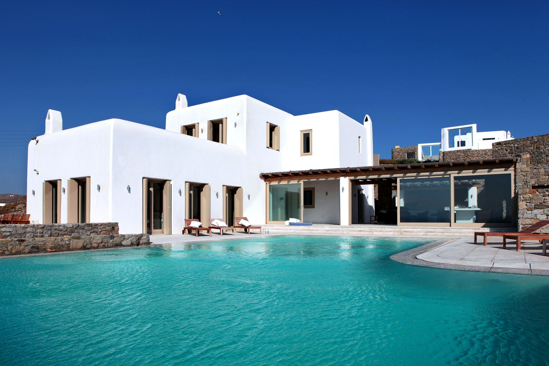 awesome greece villa