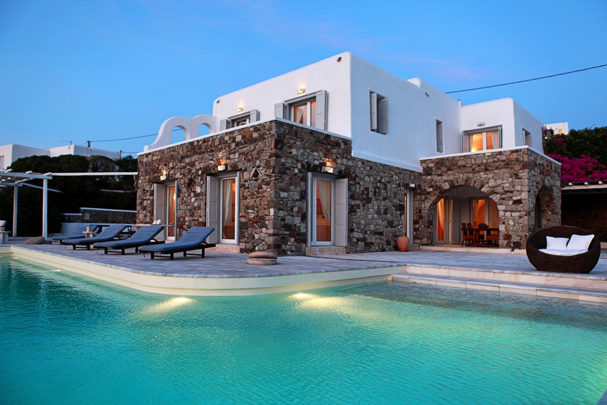 awesome greek villa