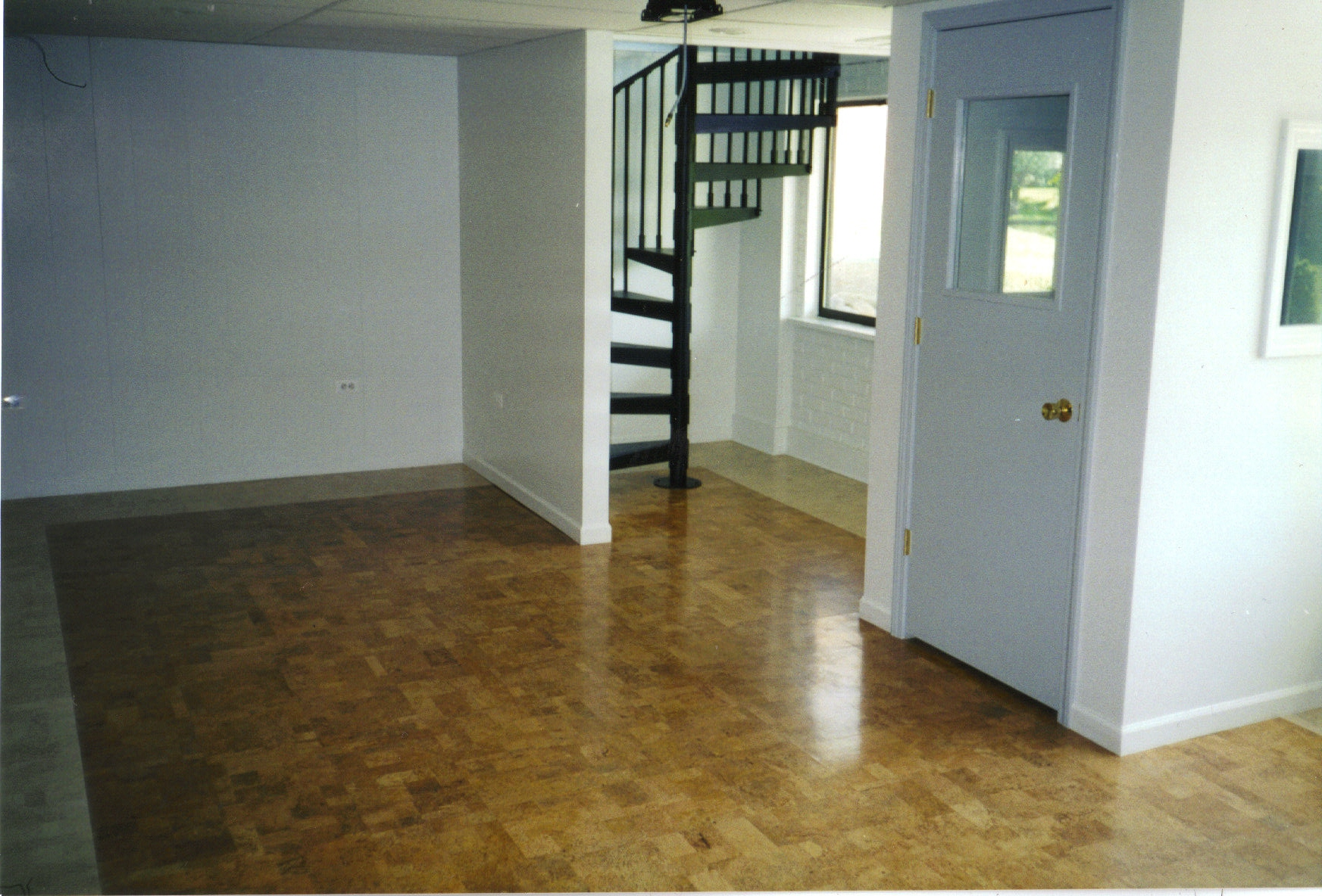 How to basement floor paint custom home design for Basement flooring options
