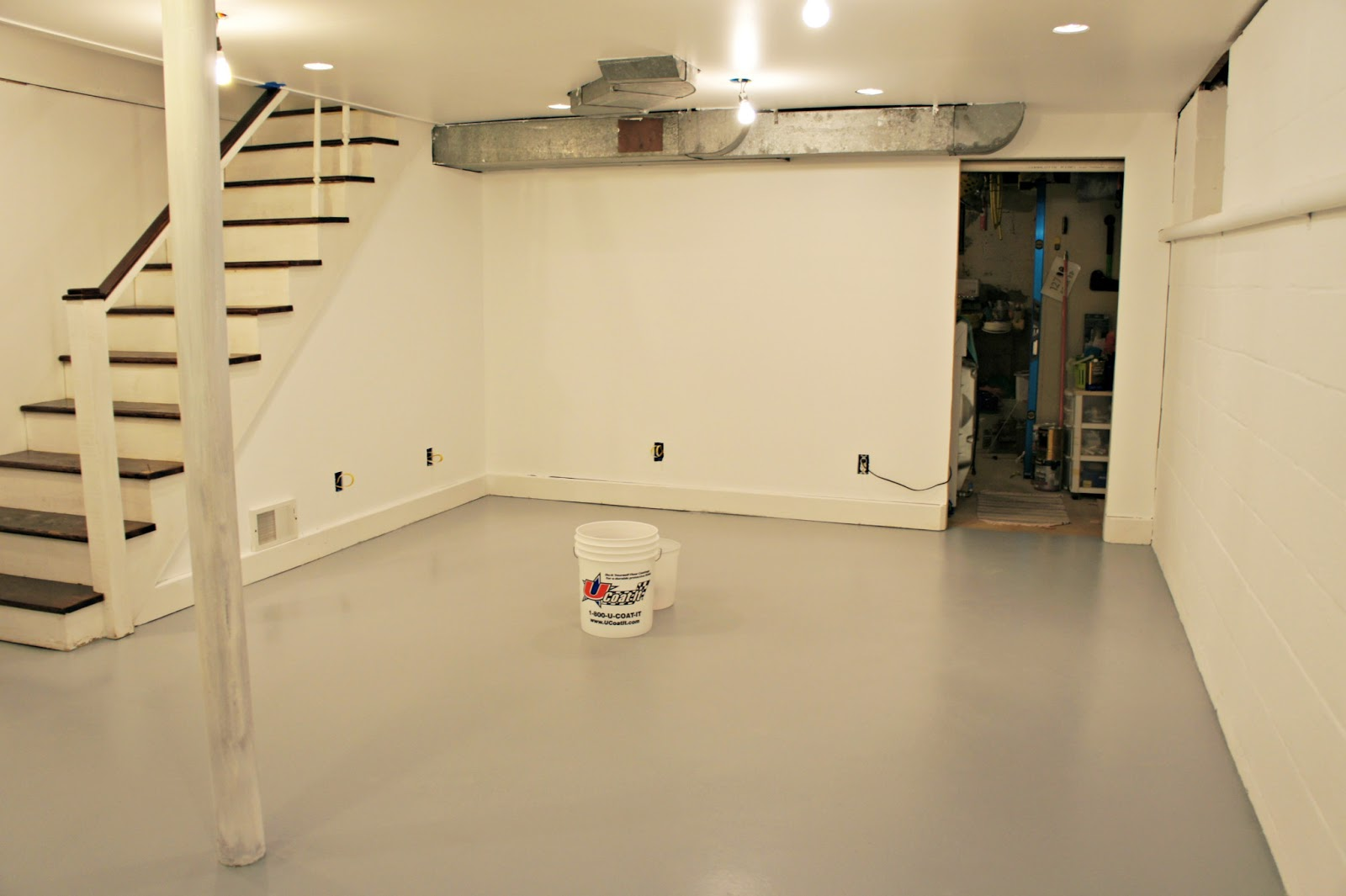 Best Paint For Basement Floor (Image 4 of 10)