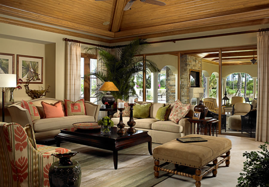 Classic Living Room Design (Image 2 of 10)